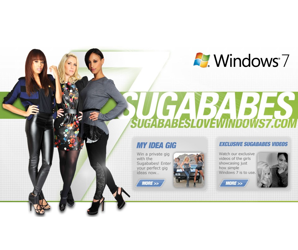 Screenshot von Sugarbabeslovewindows7.com