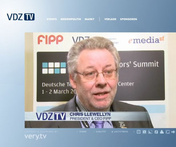 Screenshot von VDZ TV