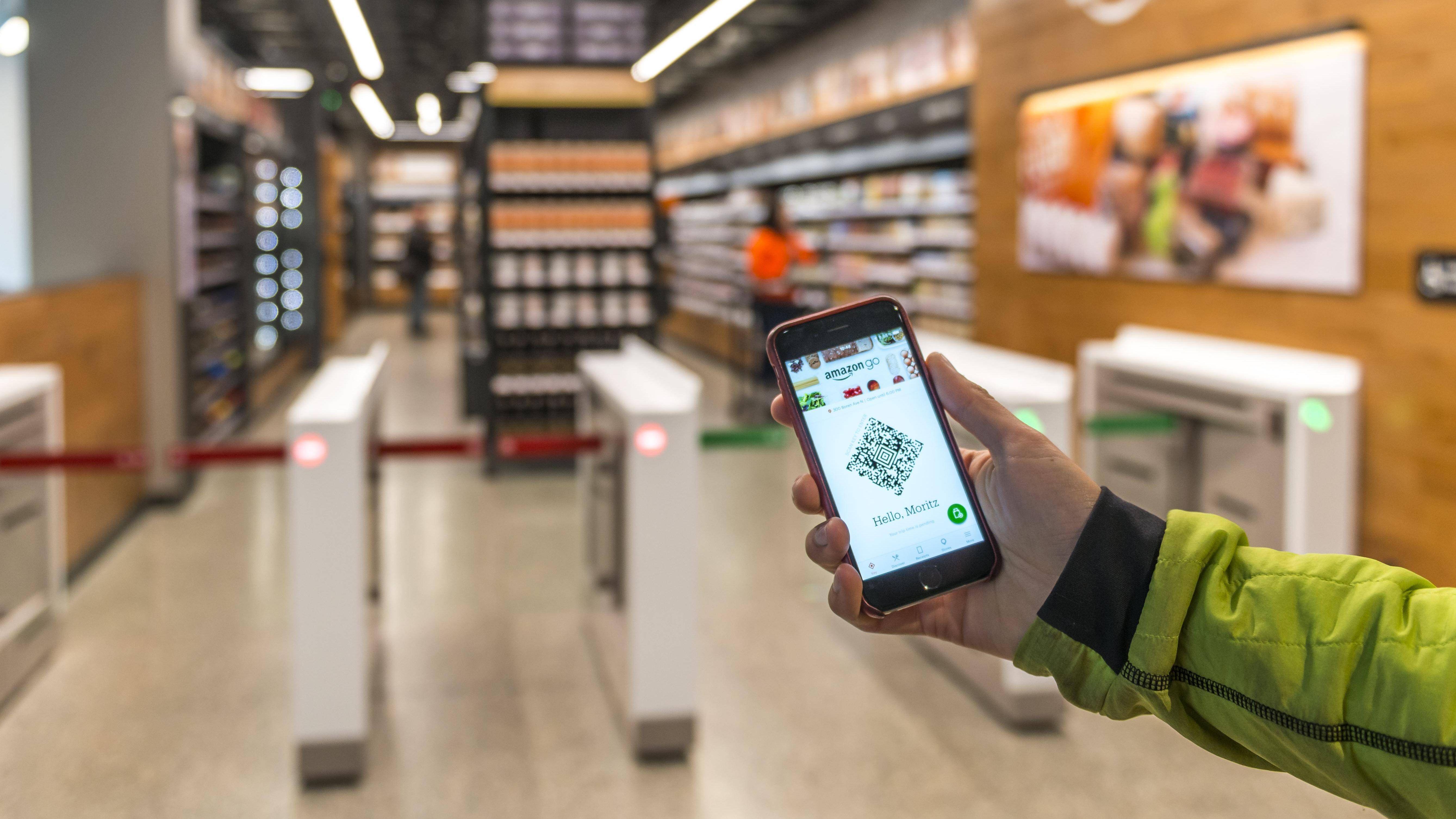 Online-Händler: Amazon eröffnet ersten größeren Supermarkt ohne Kassen