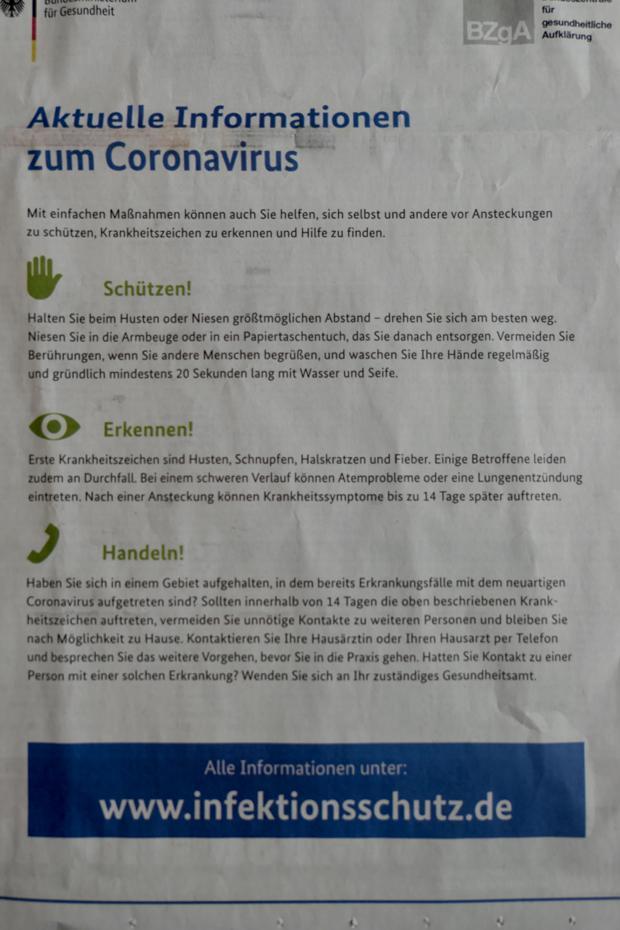 vor coronavirus schützen