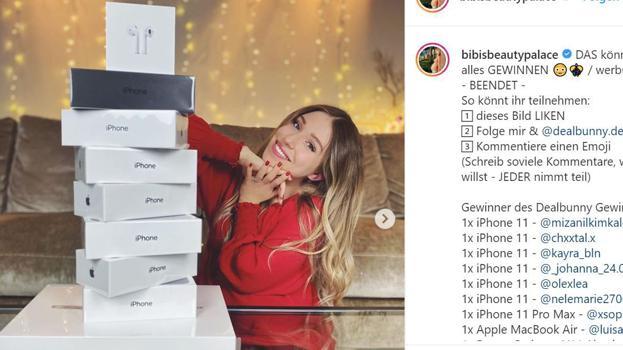 Influencer Marketing: Das waren die Top- und Flop-Instagram-Werbeposts im Dezember