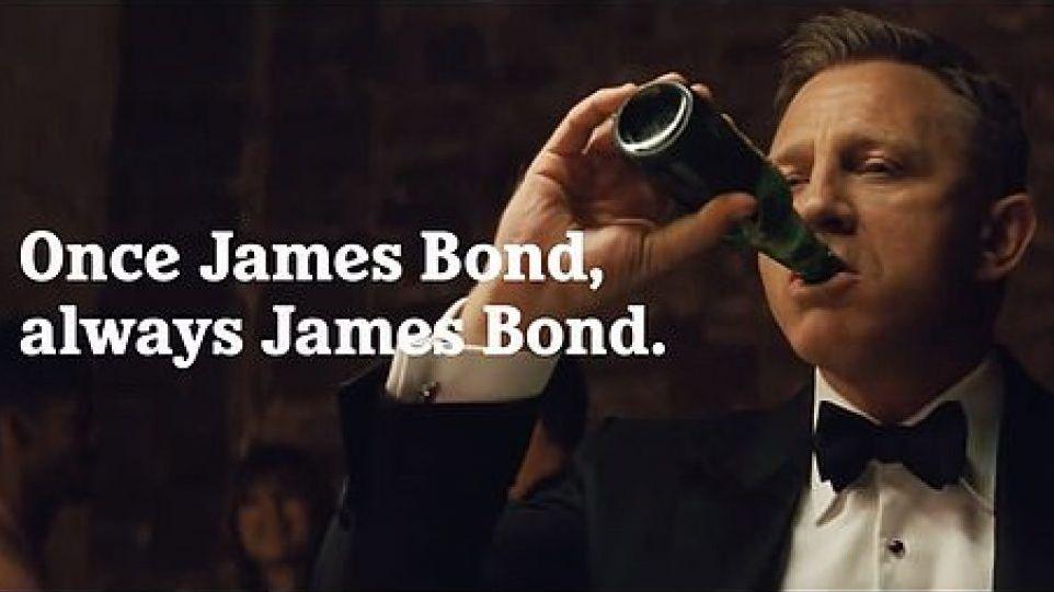 Heineken: Wieso Daniel Craig einfach nicht von James Bond loskommt