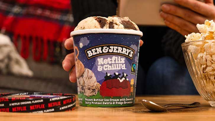 Kooperation mit Ben & Jerry's: Netflix hat jetzt seine eigene Eissorte