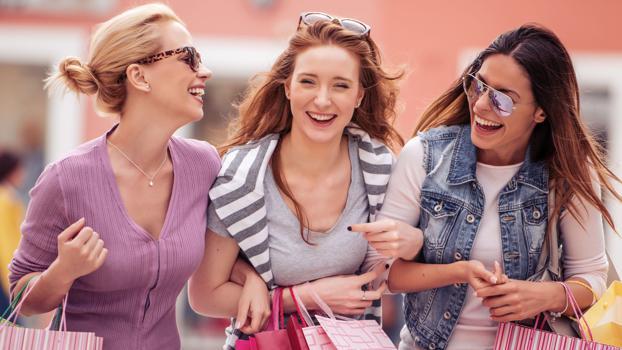 Generation Z Shopping Einkaufen