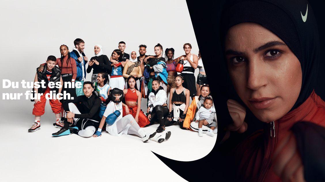 Mit Boxerin Zeina Nassar: So bewegend setzt Nike seine deutsche Markenkampagne fort