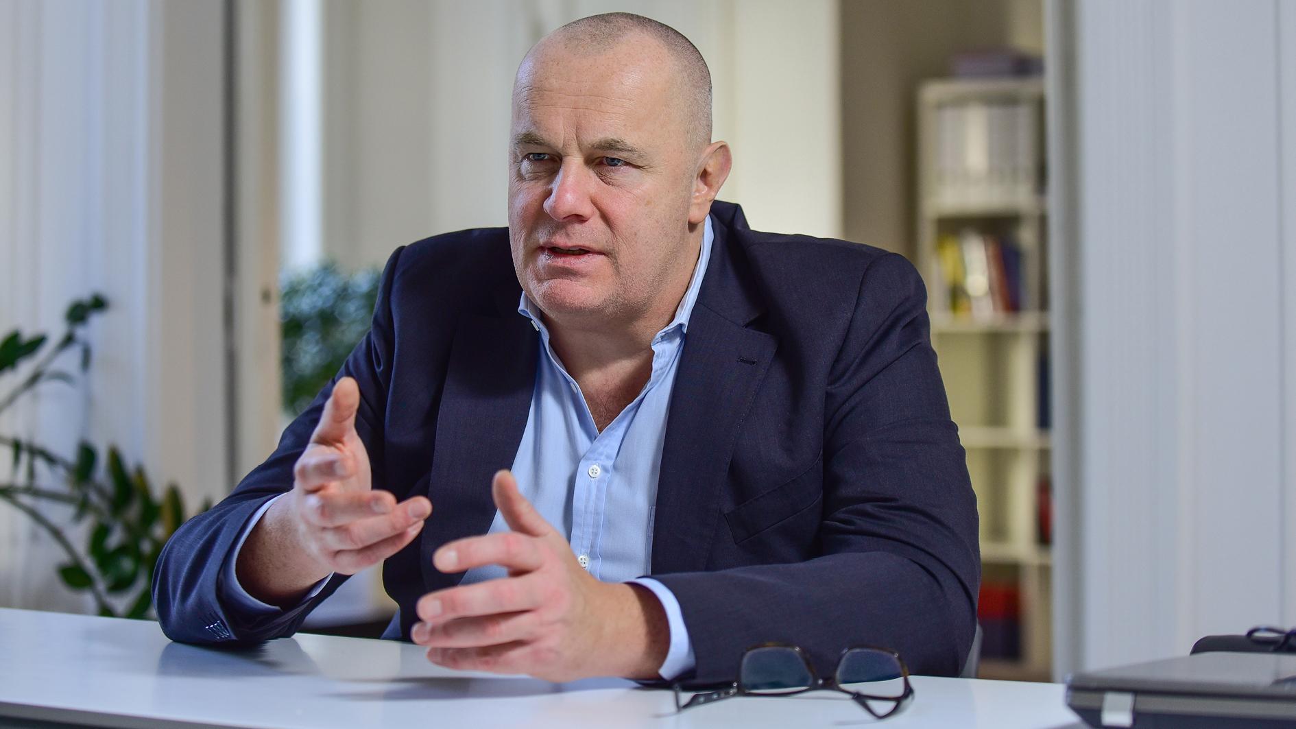 Ralf Strauss, Präsident Deutscher Marketing Verband