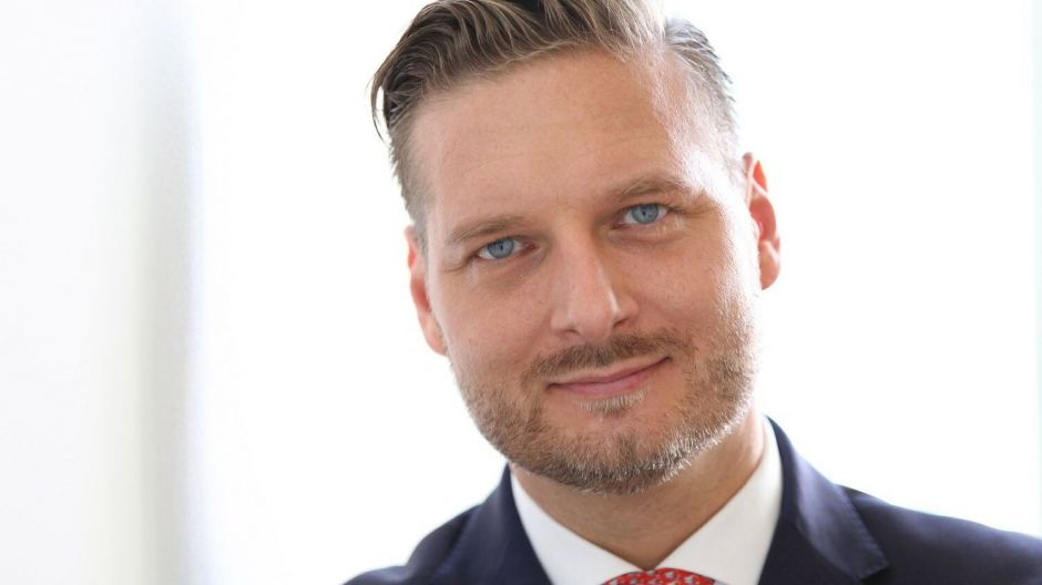 Alexander Barion ist Head of Marketing Central Region bei Fidelity International
