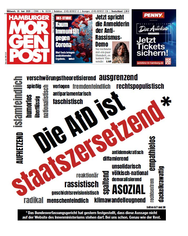 Verlage: Hamburger Morgenpost stellt Sonntagsausgabe ein - und ...
