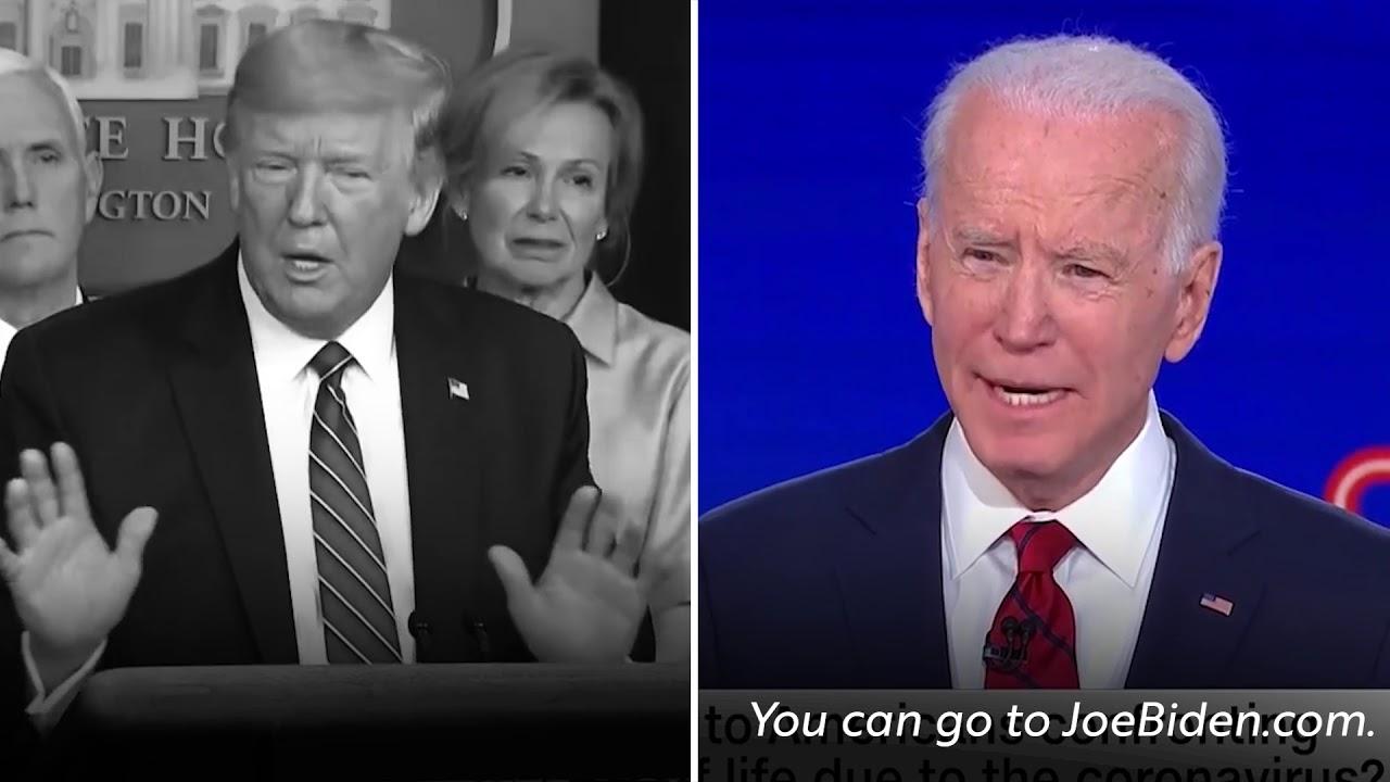 US-Wahlkampf: So eiskalt entlarvt Joe Biden die Corona-Aussagen von Donald Trump