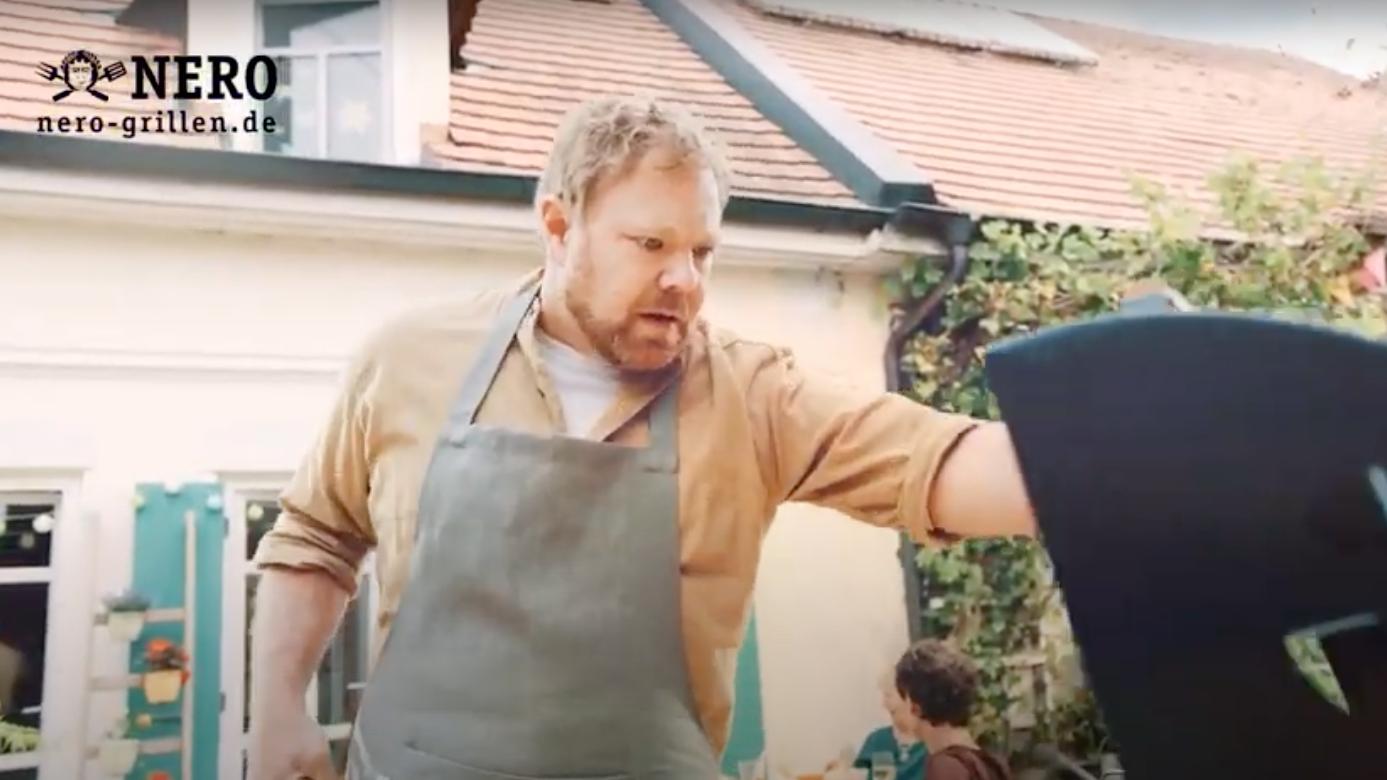 """""""Höhle der Löwen""""-Start-Up: Wie Nero dem Grillmeister im TV-Spot den Appetit verdirbt"""