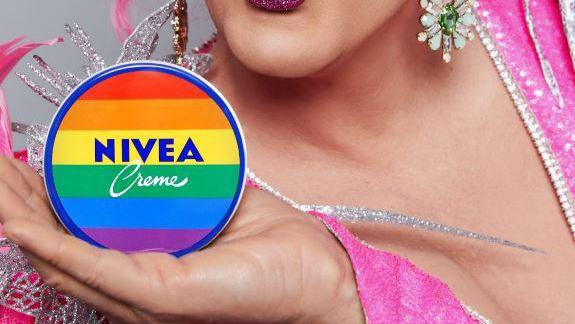 Pride-Kampagne mit Olivia Jones: Nivea setzt ein buntes Zeichen ...