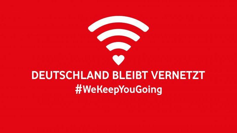 #WeKeepYouGoing: Wie Vodafone und Jung von Matt in der Krise helfen wollen