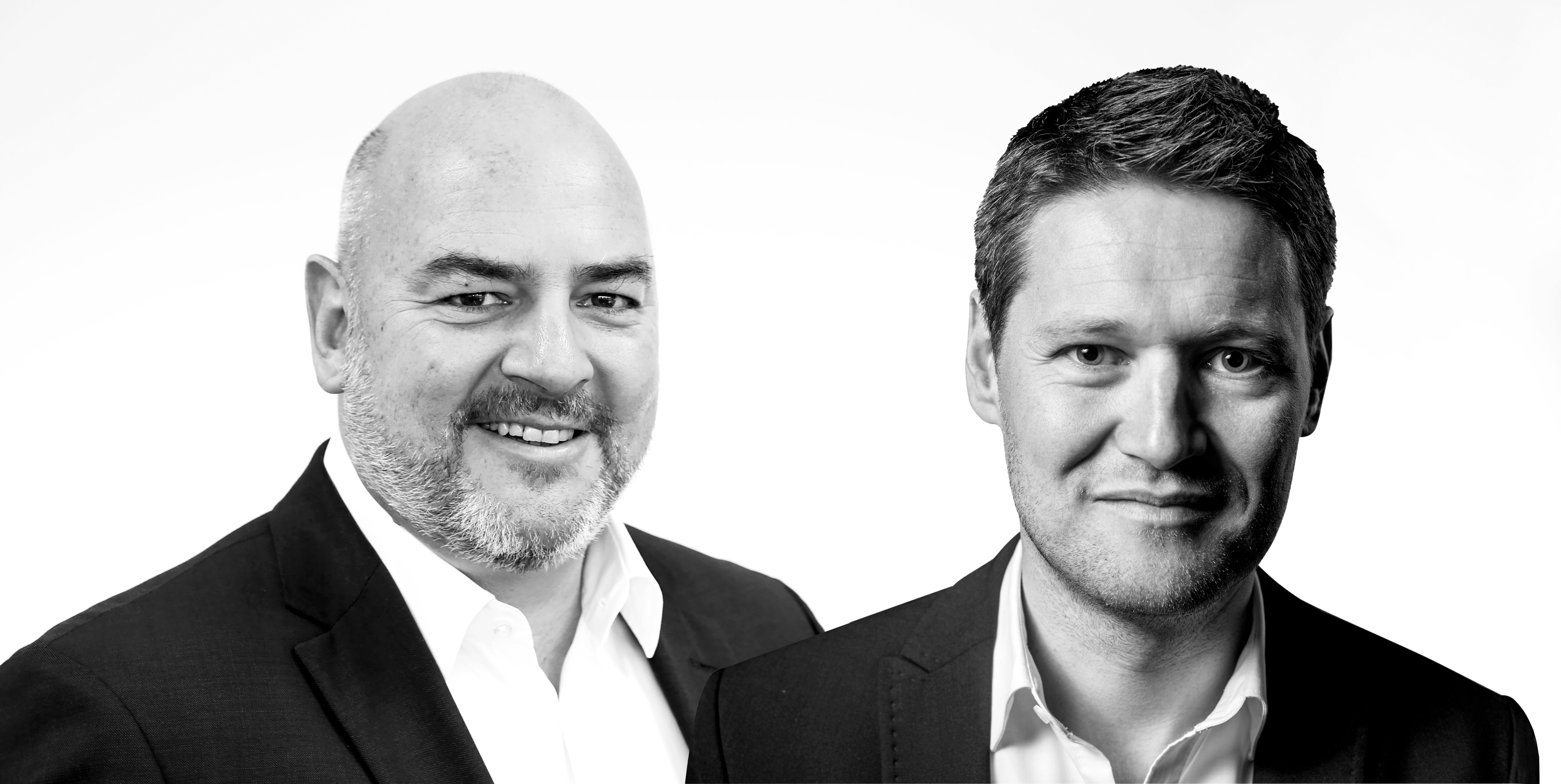 Stefan Müller (l.) und Benjamin Schweppe, B&M Marketing