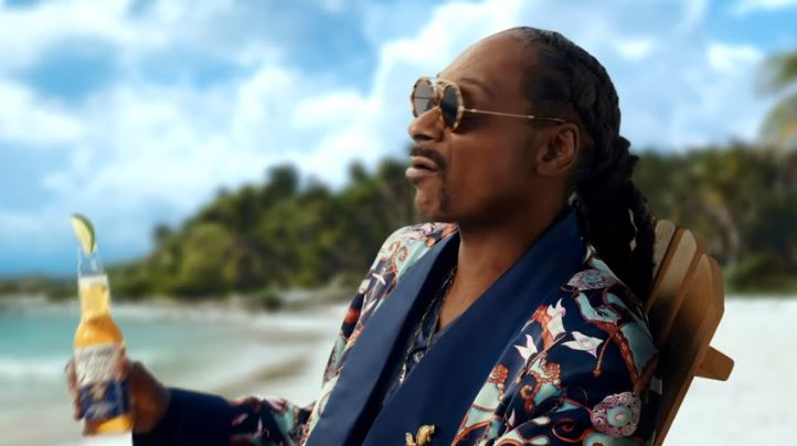Rapper Snoop Dogg im Corona-Spot