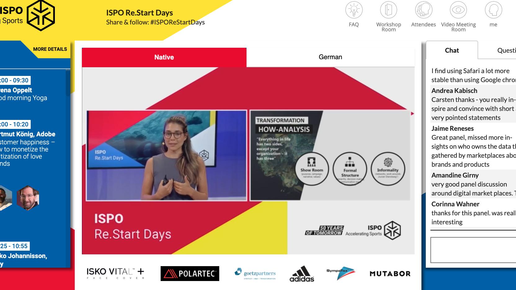 Ispo / Bits & Pretzels: Netzwerken der Zukunft: So gelingen virtuelle Konferenzen