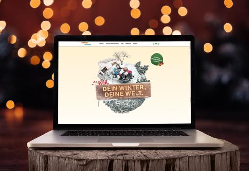 Coop Bau+Hobby Weihnachts-Website