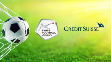 Credit Suiss mit Swiss Football League