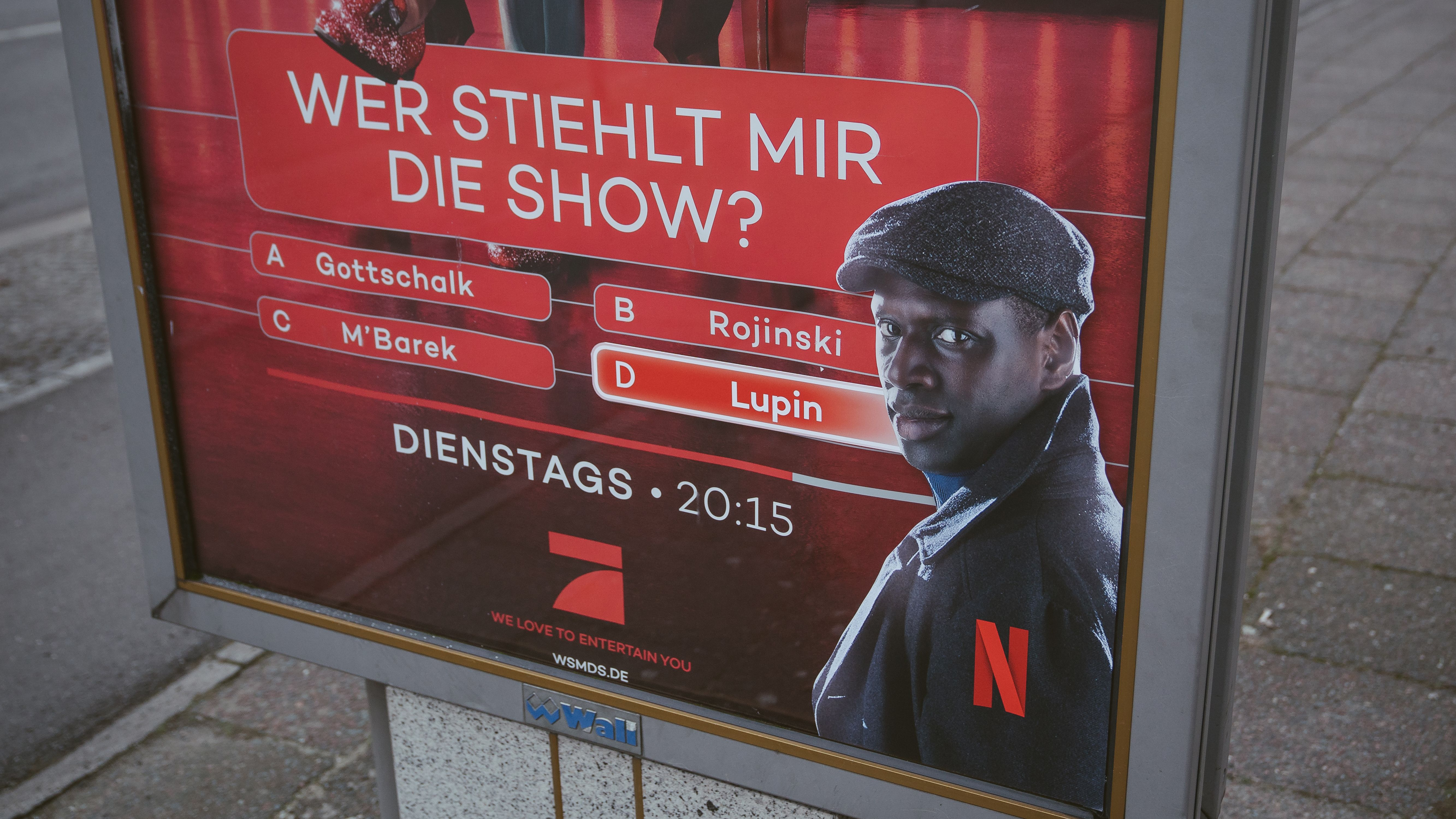 """""""Lupin""""-Stunt: Netflix und Omar Sy stehlen Joko und Pro Sieben die Show"""