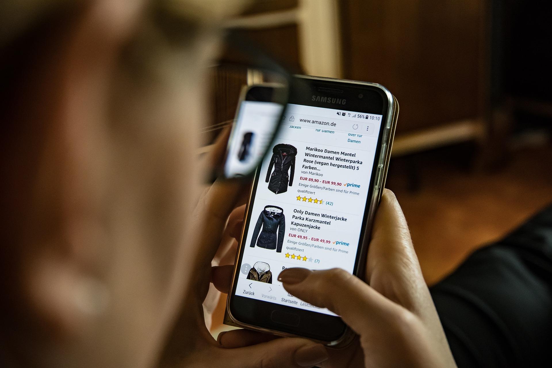 Online-Shopping ist en vogue