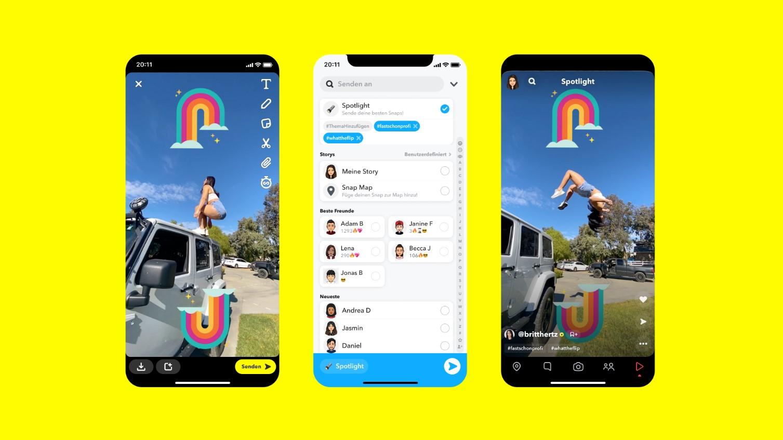User Generated Content: Snap belohnt User fürs Snapchatten