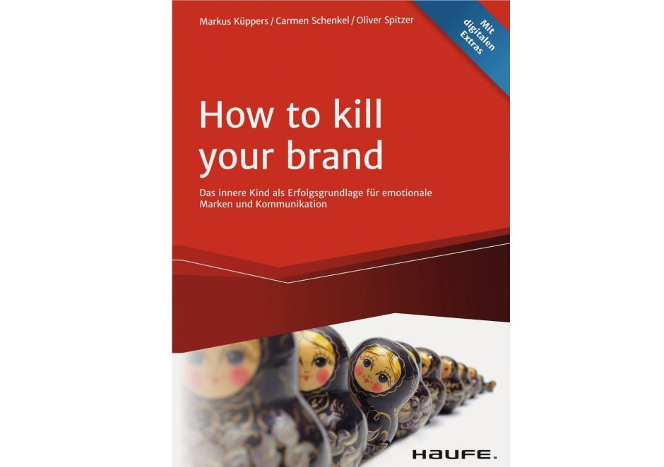 Buchcover - How to kill your brand