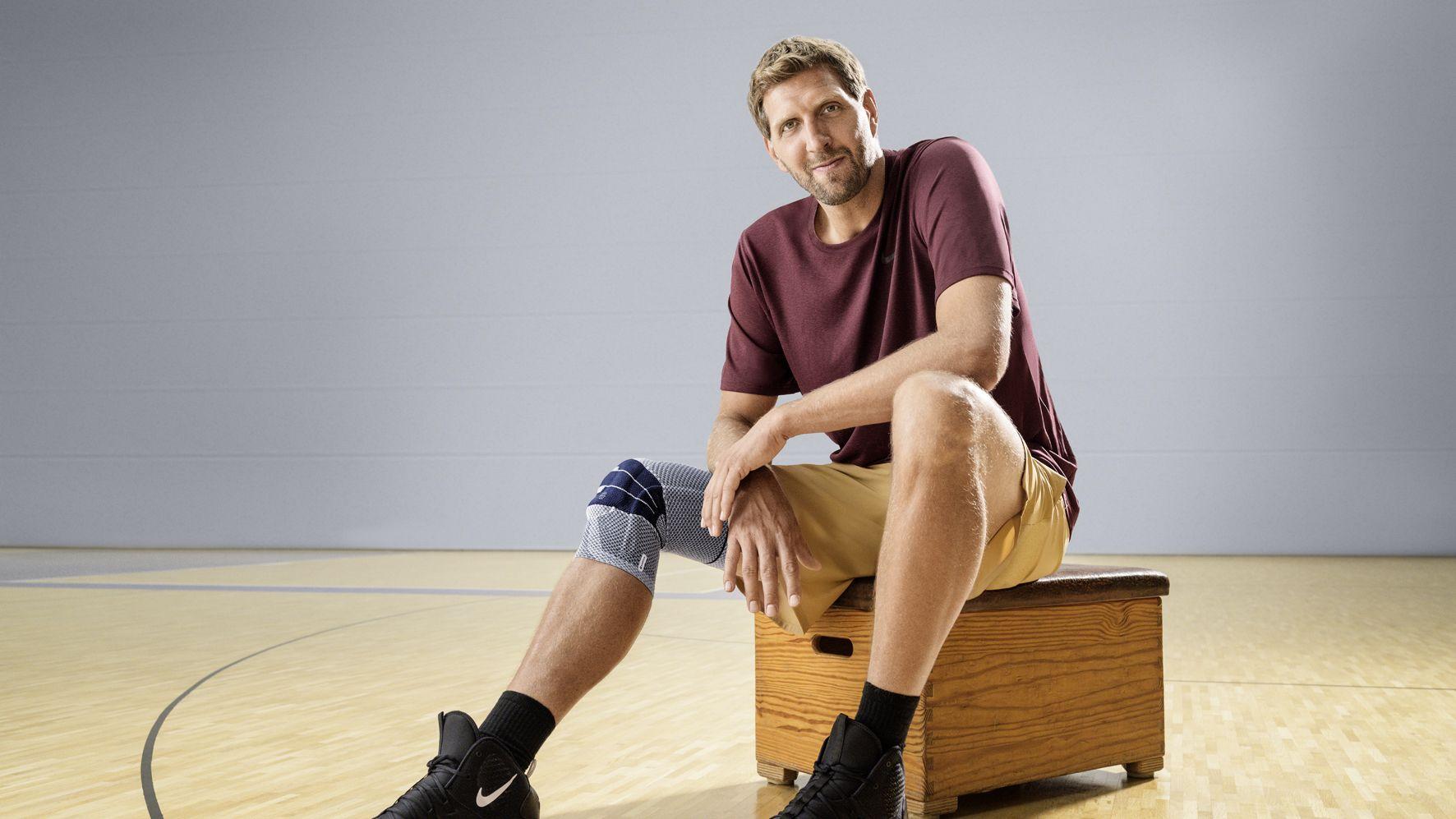 Basketball-Superstar: Dirk Nowitzki bleibt Bauerfeind treu