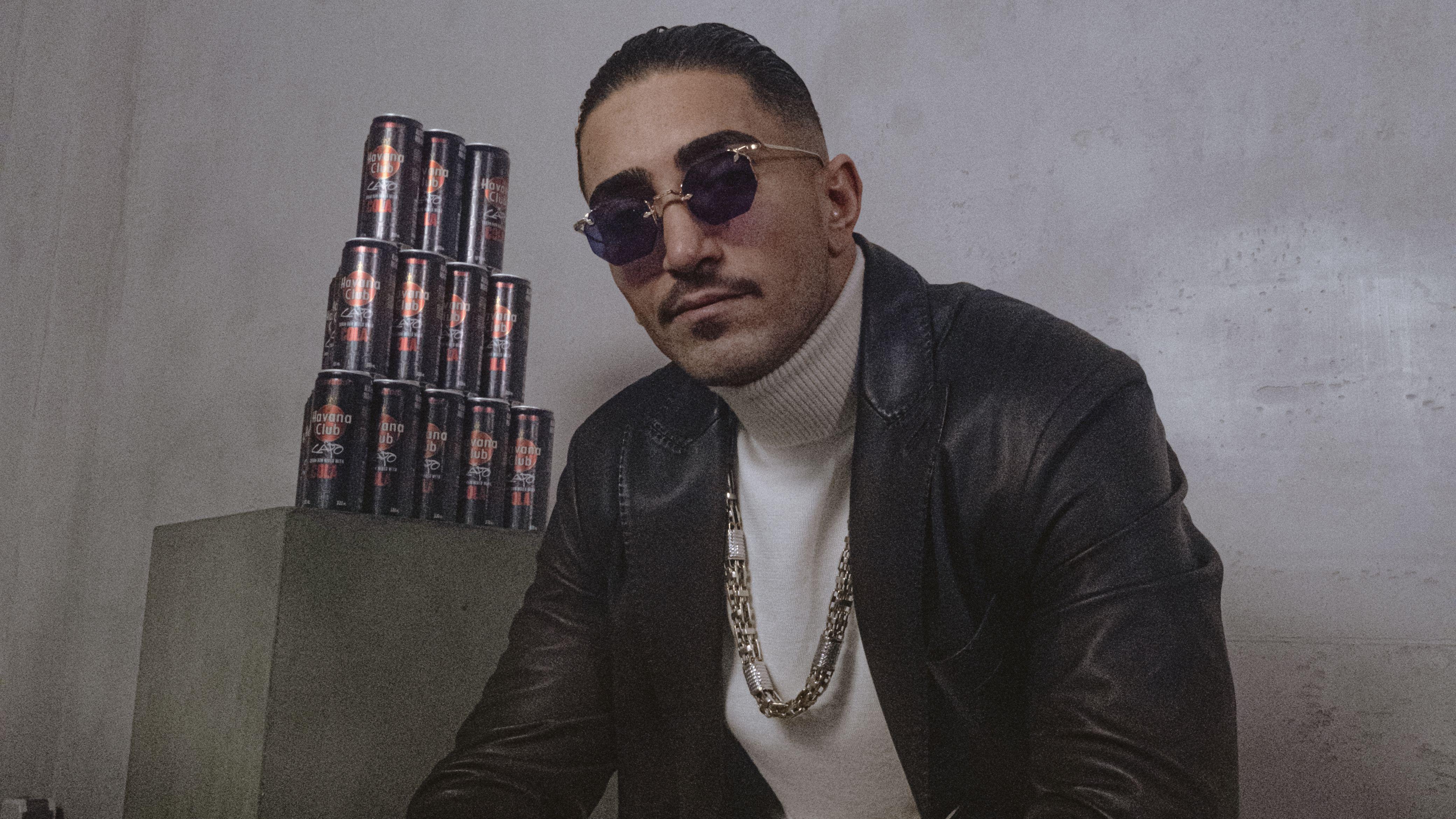 Zum Goldenen Hirschen: Havana Club und Rapper Capo präsentieren den Swag in der Dose