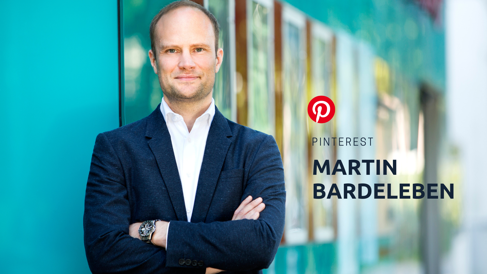 Martin Bardeleben, Head of Partnerships für Consumer Goods bei Pinterest