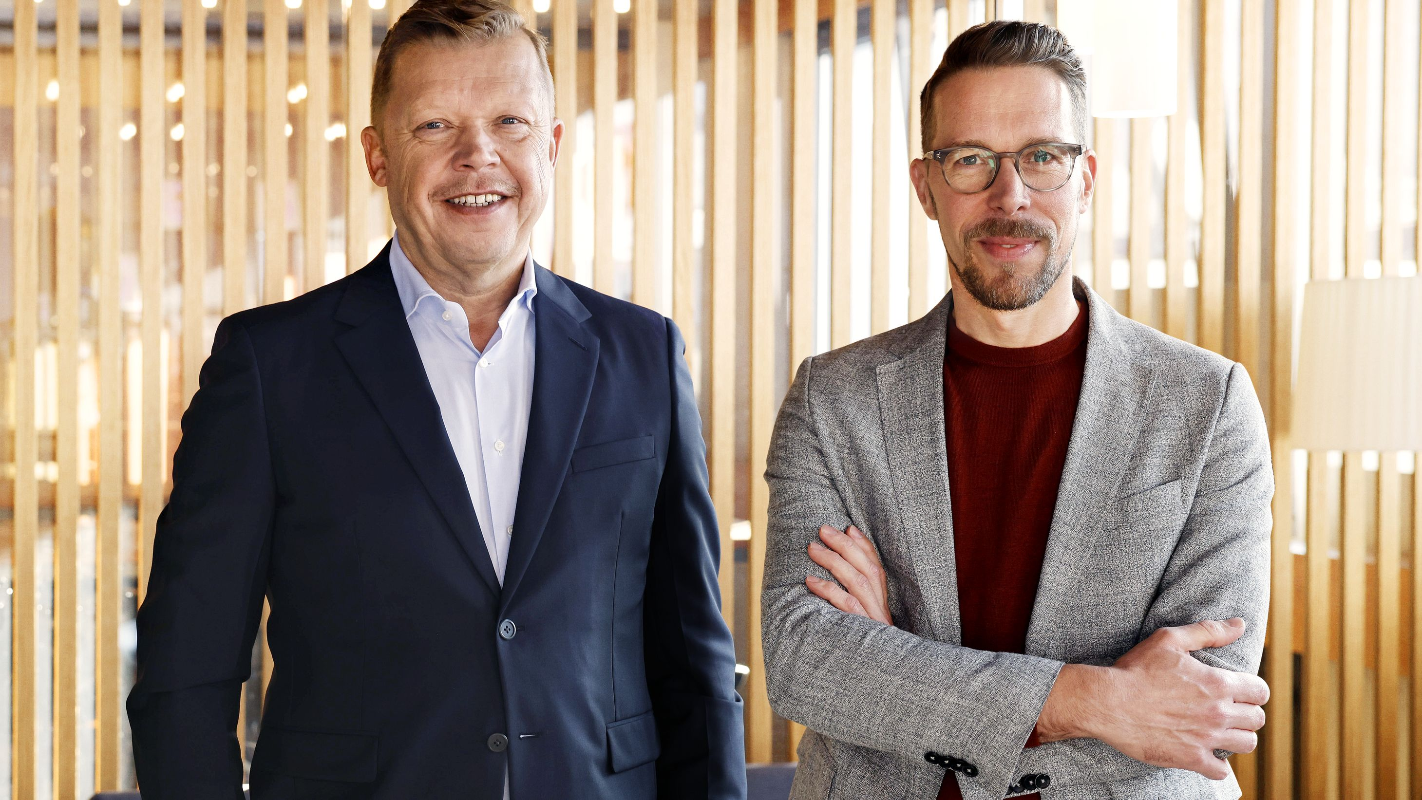 Doppelspitze: Thomas Wagner und Andreas Kösling stehen als Chief Sales Officer beziehungsweise als Chief Commercial Officer an der Spitze der Seven-One Entertainment Group