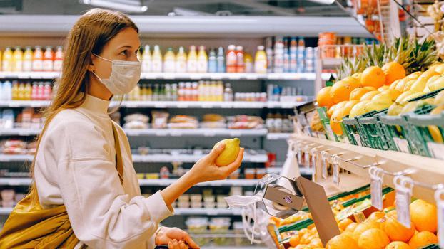 Kundenzufriedenheit im Supermarkt