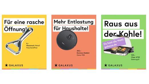 """Galaxus Deutschland - """"Du hast die Wahl"""""""
