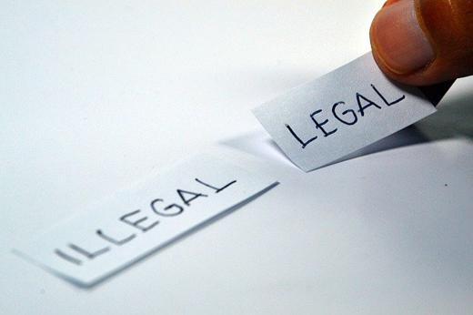 legal - illegal