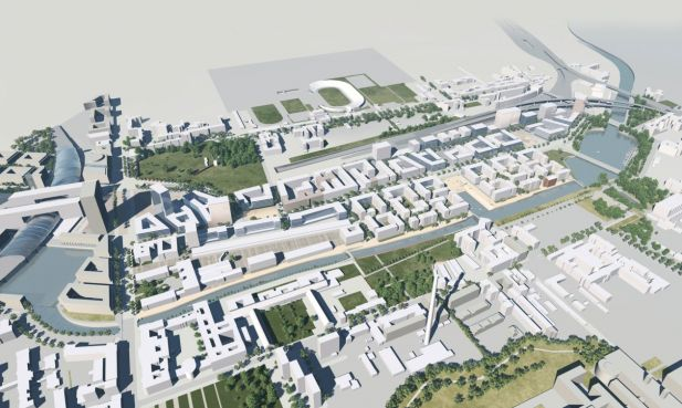 "Das Projekt ""Europacity"" in Berlin-Moabit"