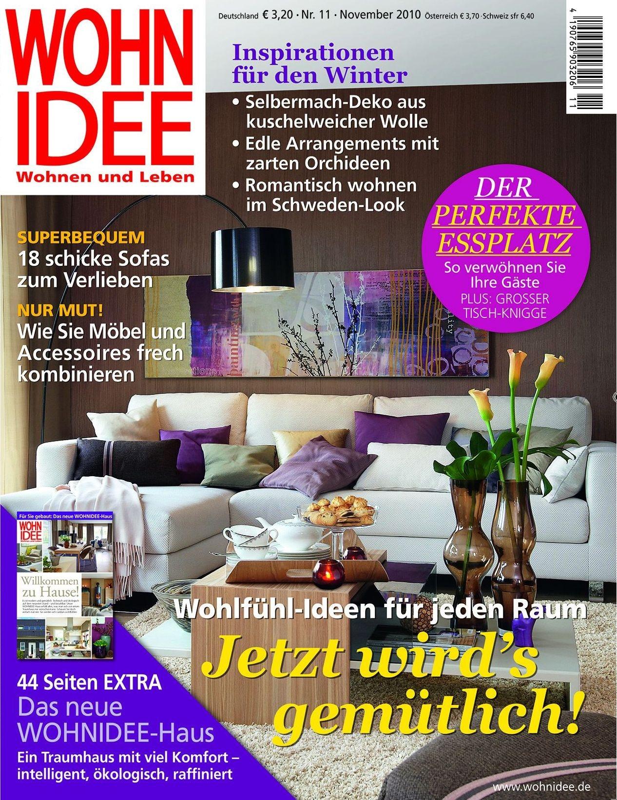 wohnidee bewirbt extra zum wohnidee haus mit einer kampagne. Black Bedroom Furniture Sets. Home Design Ideas