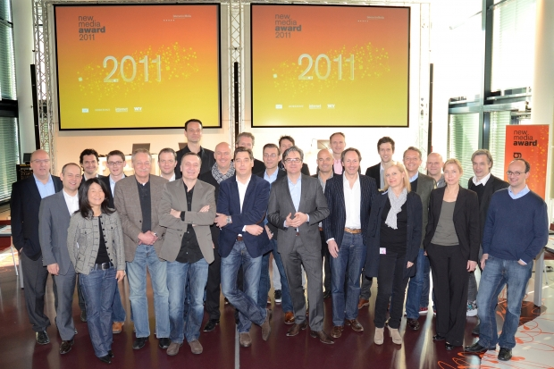 Die Jury des New Media Award 2011