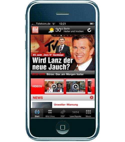 Bild Zeitung App
