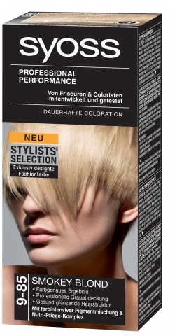 Syoss-Produktneuheit: Die Farbkollektion Stylists´ Selection