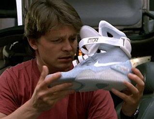 """Zurück in die Zukunft II"""": Original Schuh von 1989 wird auf"""