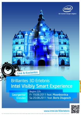 Am Freitag startet die Intel Visibly Smart Experience-Tour in Dresden