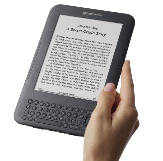 Amazon erobert mit dem Kindle den Markt für E-Books