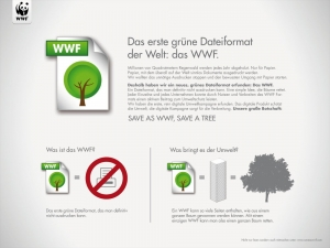 "Jung von Matt räumt mit ""Save as WWF"" den Grand Prix ab"
