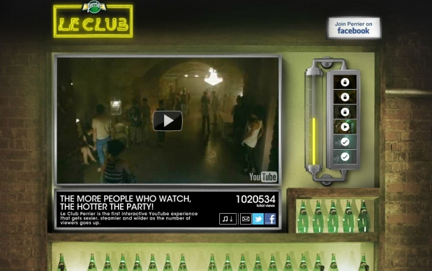 """Le Club"" im Youtube-Kanal von Perrier"