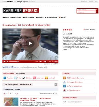 Spiegel online bekommt mediathek von moving image 24 for Mediathek spiegel tv