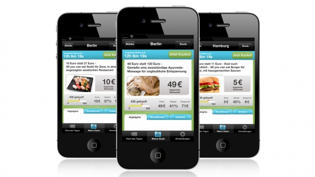 Mobiles Grouponing jetzt auch fürs iPhone