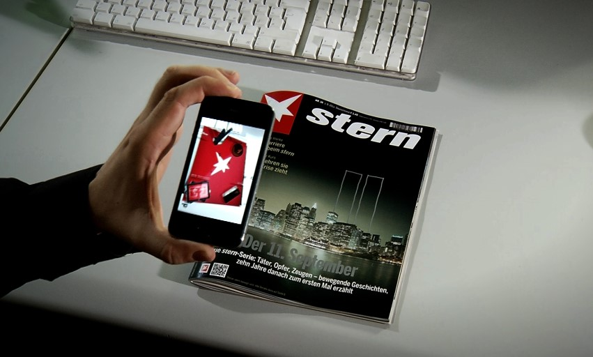 stern bringt zur ifa augmented reality ausgabe an den kiosk. Black Bedroom Furniture Sets. Home Design Ideas