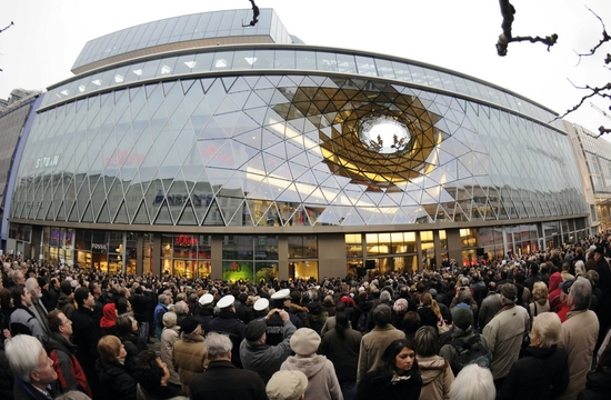 Shoppingcenter MyZeil in Frankfurt