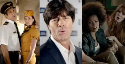 oooooooh orgie draft fcb dreht neuen nivea spot mit jogi l w. Black Bedroom Furniture Sets. Home Design Ideas