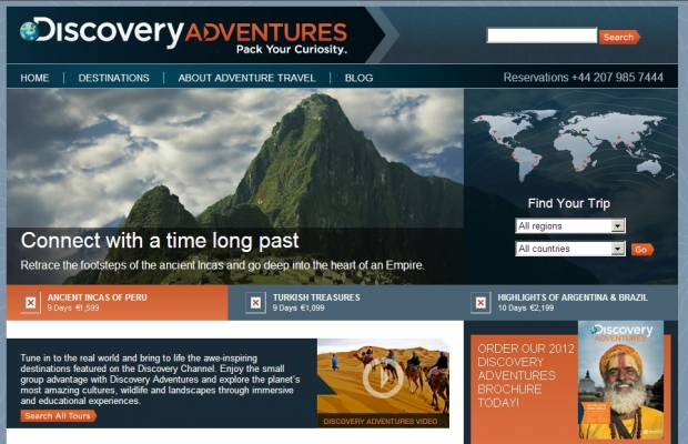 Das Reiseportal Discovery Adventures ist ab sofort online