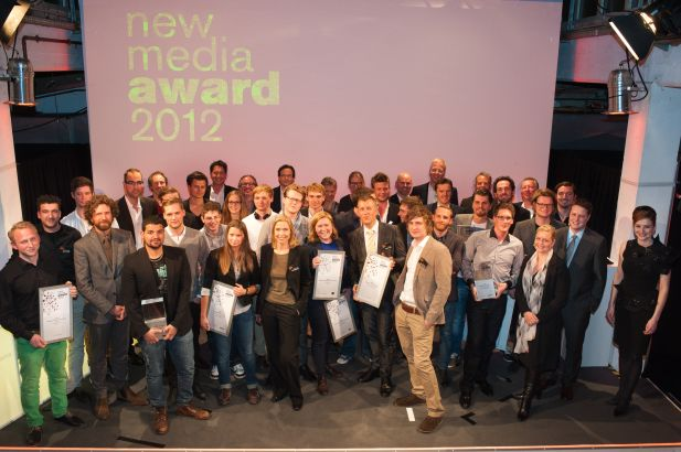 Die Gewinner des New Media Award 2012