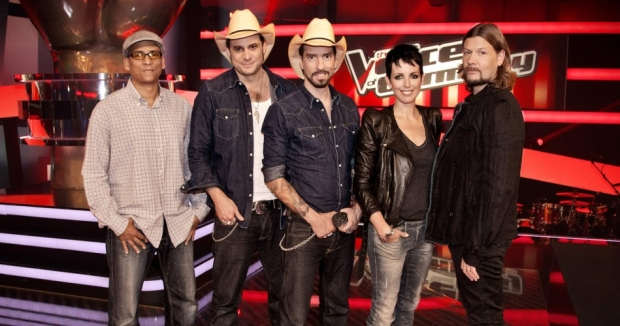"Die Jury von ""The Voice of Germany"""